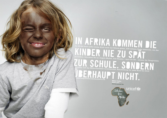 german kids in blackface