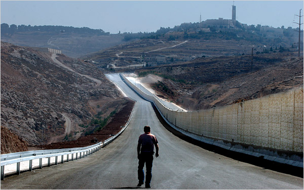 segregated road israel